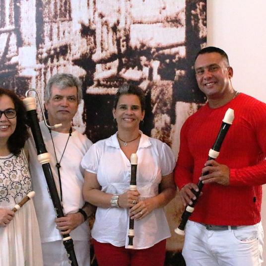 Grupo Ventarolla em homenagem a Flautista Elena Rodrigues