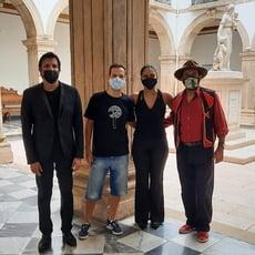 Orquestra Sinfônica da Bahia grava documentário no Museu da Misericórdia