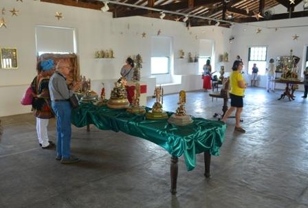 Exposição Tempo de Natal exibiu presépios da coleção de Celso Oliva