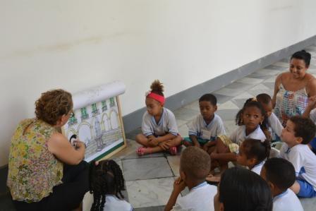 Projeto Contando Nossa História recebe grupos escolares no mês de Março