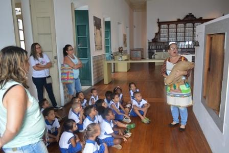 Museu da Misericórdia desenvolve ações para visita de grupos escolares