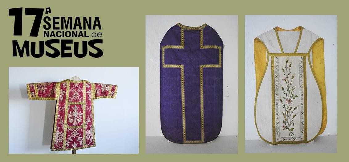 Museu da Misericórdia apresenta exposição inédita sobre vestimentas da liturgia católica