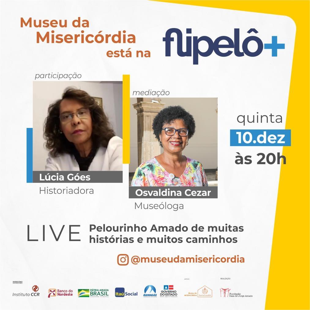 Museu da Misericórdia participa da Flipelô com debate sobre o Pelourinho